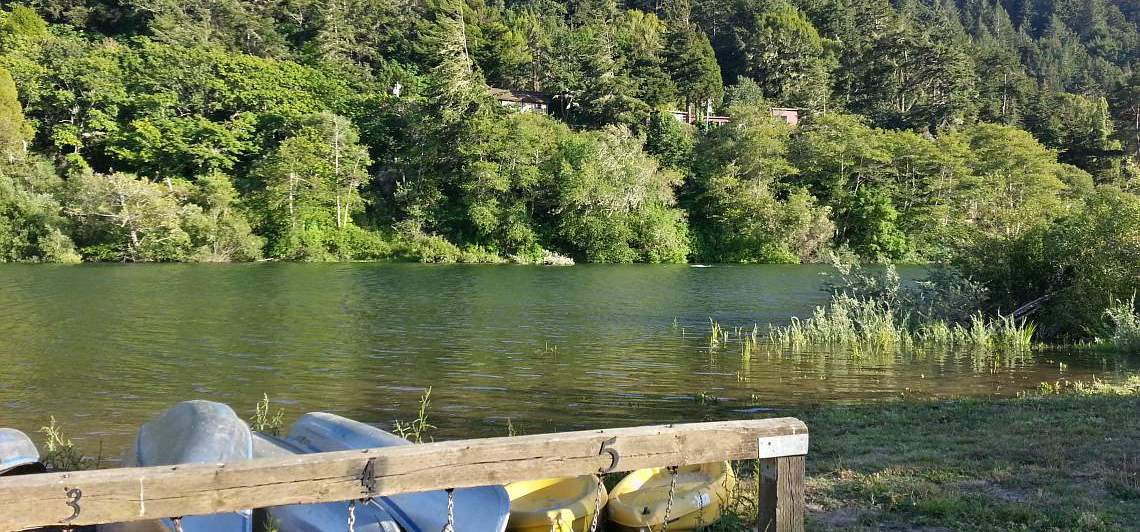 Complimentary Canoes and Kayaks on the Russian River, An Easy Launch
